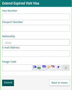 Extend Saudi Arabia Expired Visa Online