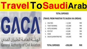 Travel To Saudi Via Jordan And Kenya